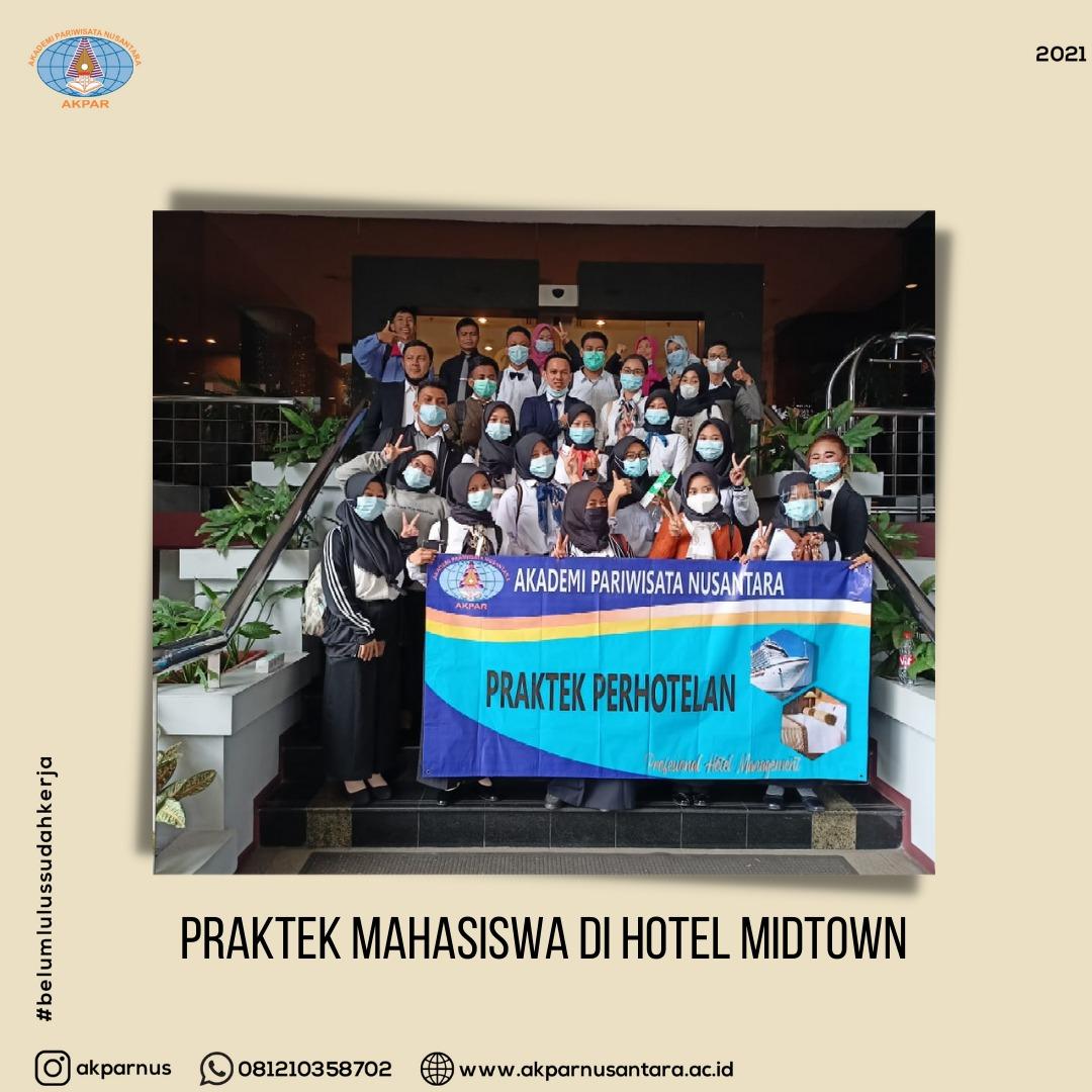 PRAKTEK MAHASISWA DI HOTEL MIDTOWN
